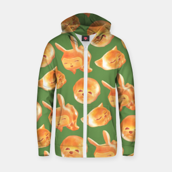 Thumbnail image of The Soul Of Bread Zip up hoodie, Live Heroes