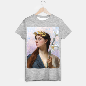 Thumbnail image of An Allegory of Victory by Jules Joseph Lefebvre T-shirt regular, Live Heroes
