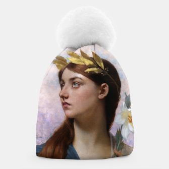 Thumbnail image of An Allegory of Victory by Jules Joseph Lefebvre Beanie, Live Heroes