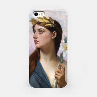 Thumbnail image of An Allegory of Victory by Jules Joseph Lefebvre iPhone Case, Live Heroes