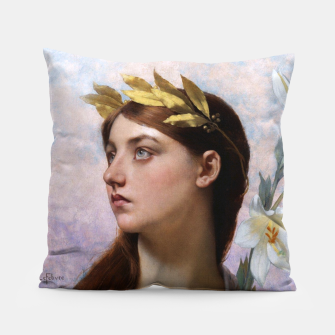 Thumbnail image of An Allegory of Victory by Jules Joseph Lefebvre Pillow, Live Heroes