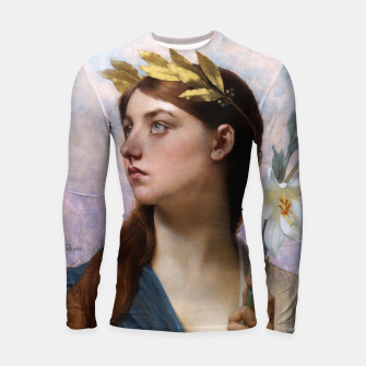 Thumbnail image of An Allegory of Victory by Jules Joseph Lefebvre Longsleeve rashguard , Live Heroes