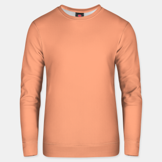 Thumbnail image of color light salmon Unisex sweater, Live Heroes