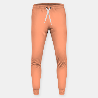 Thumbnail image of color light salmon Sweatpants, Live Heroes