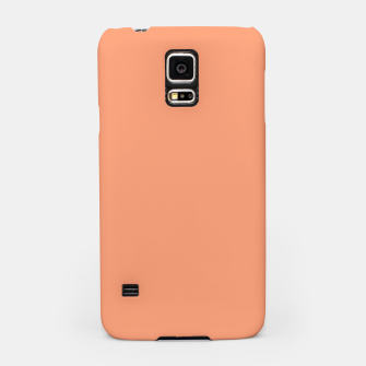 Miniaturka color light salmon Samsung Case, Live Heroes