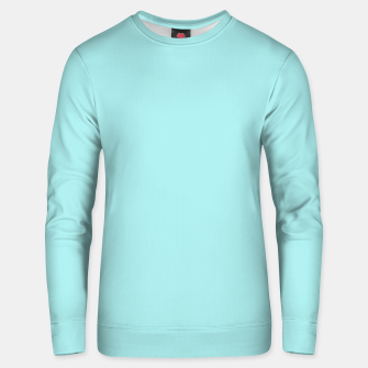 Thumbnail image of color pale turquoise Unisex sweater, Live Heroes