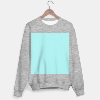 Miniaturka color pale turquoise Sweater regular, Live Heroes