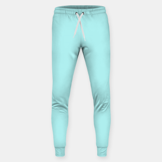 Thumbnail image of color pale turquoise Sweatpants, Live Heroes