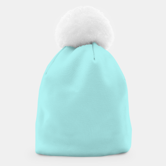 Miniatur color pale turquoise Beanie, Live Heroes