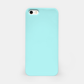 Miniaturka color pale turquoise iPhone Case, Live Heroes
