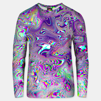Dope Glitch Waves Unisex sweater obraz miniatury