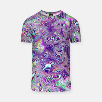 Miniatur Dope Glitch Waves T-shirt, Live Heroes