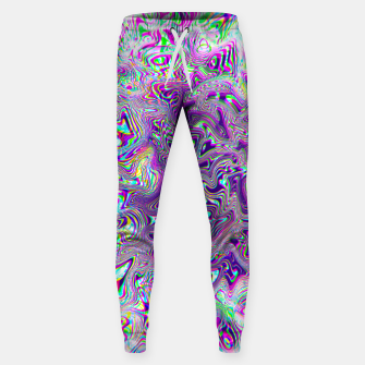 Miniatur Dope Glitch Waves Sweatpants, Live Heroes