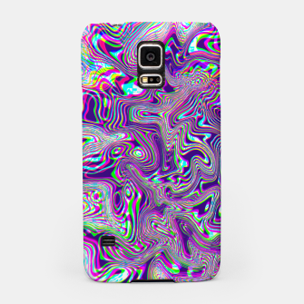 Dope Glitch Waves Samsung Case obraz miniatury