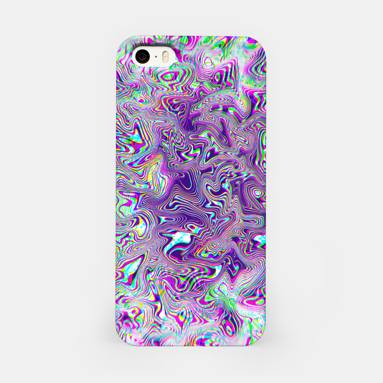 Zdjęcie Dope Glitch Waves iPhone Case - Live Heroes