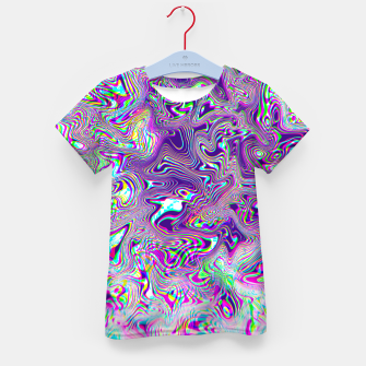 Dope Glitch Waves Kid's t-shirt obraz miniatury