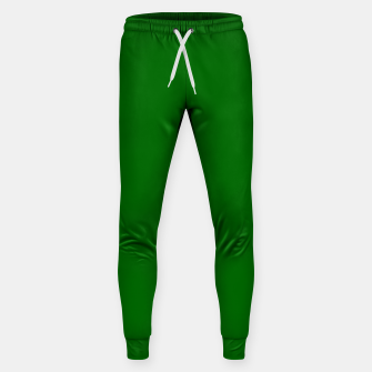 Thumbnail image of color dark green Sweatpants, Live Heroes
