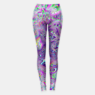 Dope Glitch Waves Leggings obraz miniatury