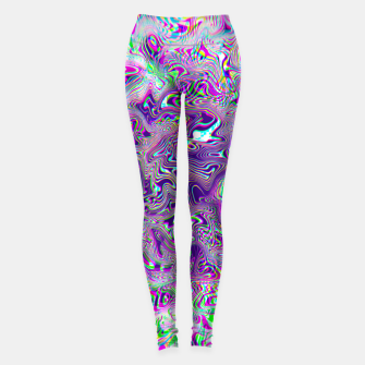 Miniaturka Dope Glitch Waves Leggings, Live Heroes