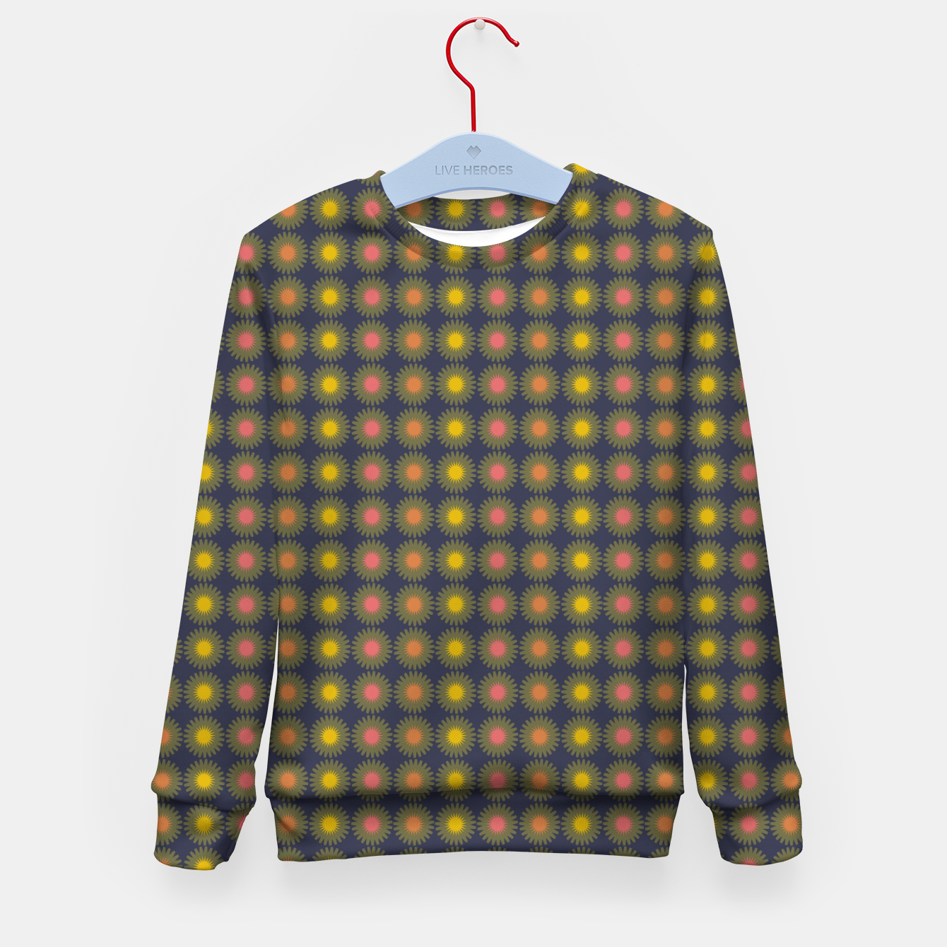 Image of zappwaits oh Kid's sweater - Live Heroes