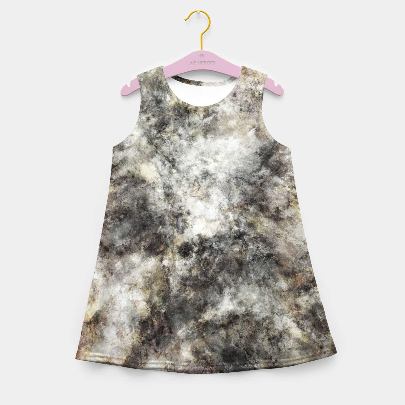 Image of Residue Girl's summer dress - Live Heroes