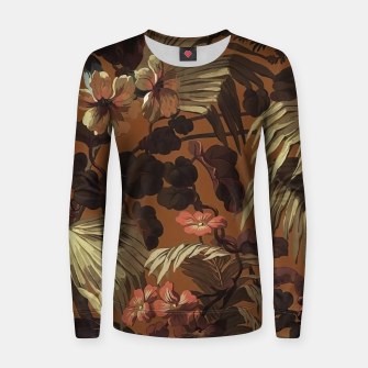 Miniatur floral Women sweater, Live Heroes