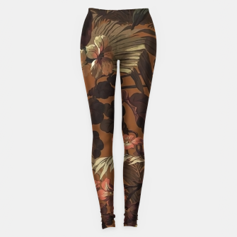 Thumbnail image of floral Leggings, Live Heroes