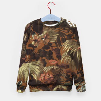 Miniatur floral Kid's sweater, Live Heroes