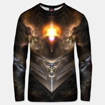 Thumbnail image of Light Of The Dragon Fractal Art Composition Unisex sweater, Live Heroes