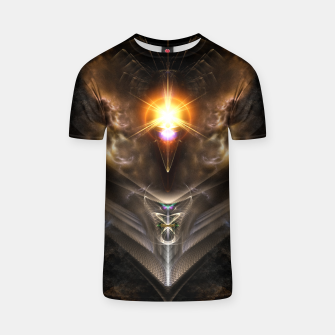 Thumbnail image of Light Of The Dragon Fractal Art Composition T-shirt, Live Heroes