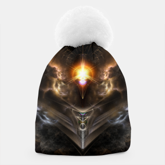 Miniature de image de Light Of The Dragon Fractal Art Composition Beanie, Live Heroes