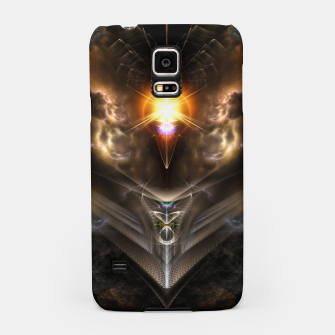 Miniaturka Light Of The Dragon Fractal Art Composition Samsung Case, Live Heroes