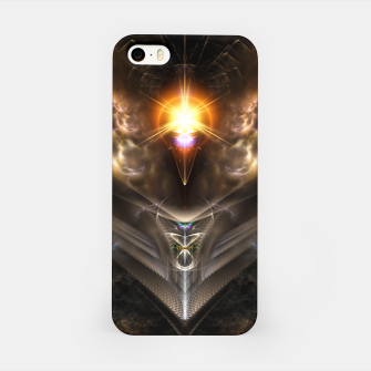 Thumbnail image of Light Of The Dragon Fractal Art Composition iPhone Case, Live Heroes