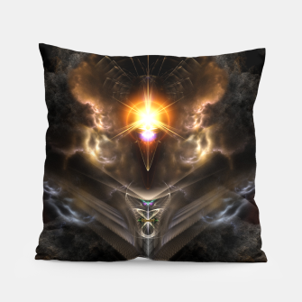 Thumbnail image of Light Of The Dragon Fractal Art Composition Pillow, Live Heroes