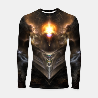 Thumbnail image of Light Of The Dragon Fractal Art Composition Longsleeve rashguard , Live Heroes