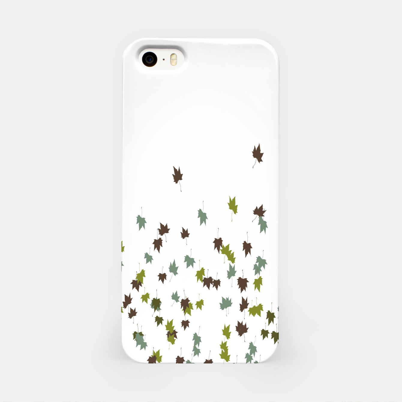 Zdjęcie Multicolor Leaves Motif Pattern Print iPhone Case - Live Heroes
