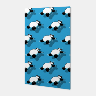Thumbnail image of Summer Panda Canvas, Live Heroes