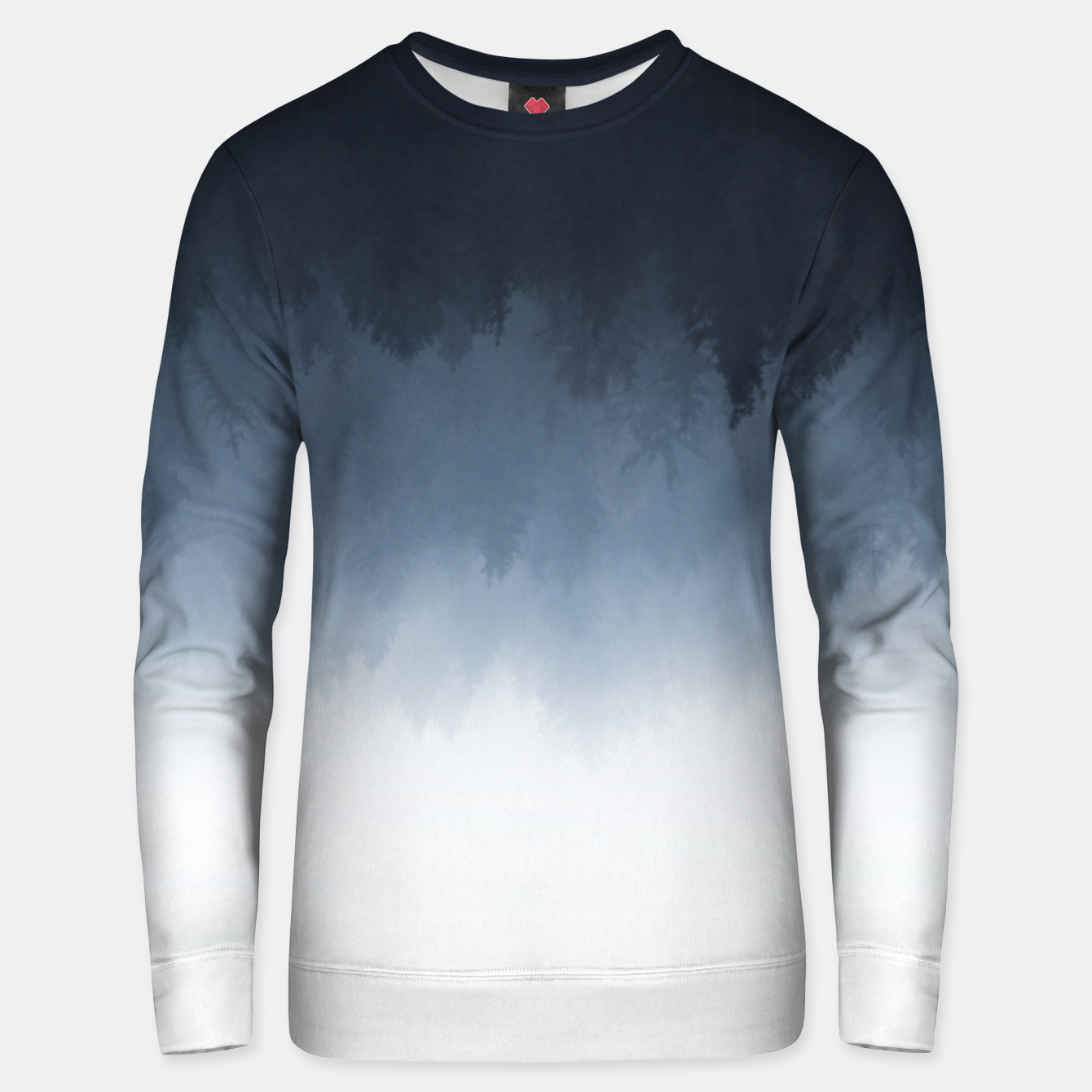 Image of The upsidedown Unisex sweater - Live Heroes