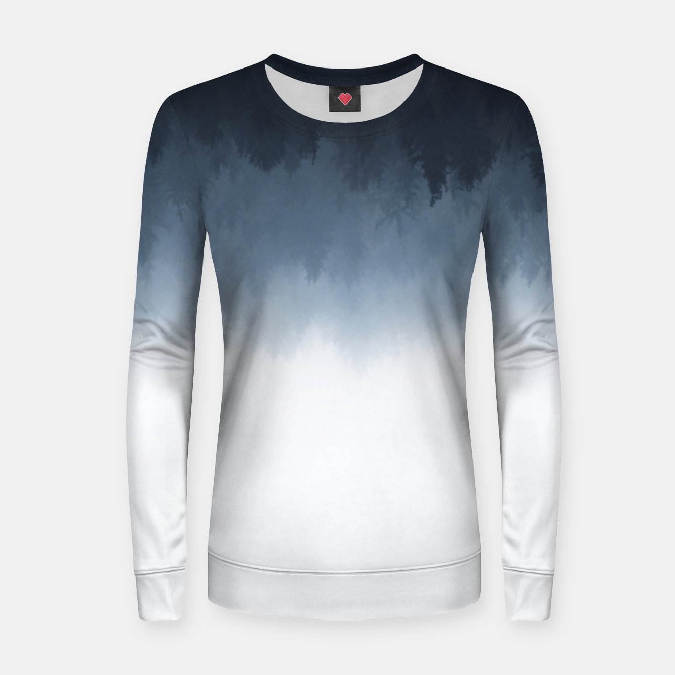Image of The upsidedown Women sweater - Live Heroes