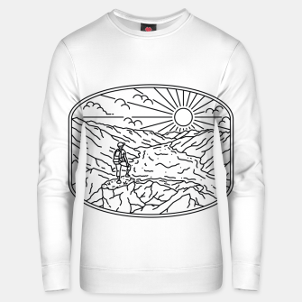 Thumbnail image of Hiker Unisex sweater, Live Heroes