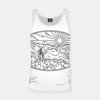 Thumbnail image of Hiker Tank Top, Live Heroes