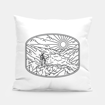 Thumbnail image of Hiker Pillow, Live Heroes