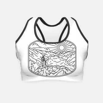 Thumbnail image of Hiker Crop Top, Live Heroes