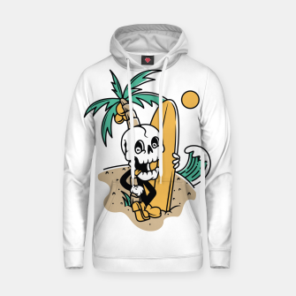 Thumbnail image of Skull Ready to Surf Hoodie, Live Heroes