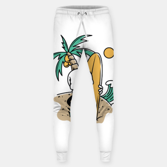 Thumbnail image of Skull Ready to Surf Sweatpants, Live Heroes
