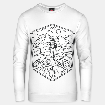Thumbnail image of Traveler Unisex sweater, Live Heroes