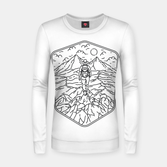Thumbnail image of Traveler Women sweater, Live Heroes
