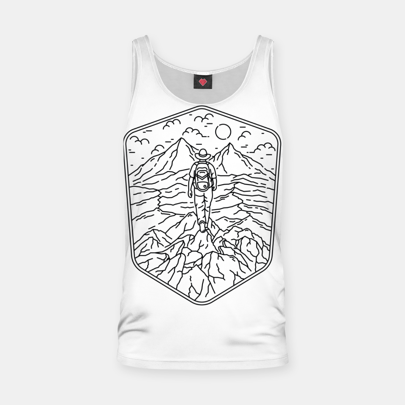 Image of Traveler Tank Top - Live Heroes