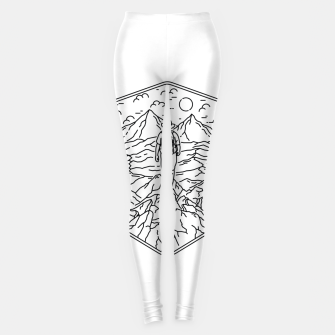 Miniatur Traveler Leggings, Live Heroes