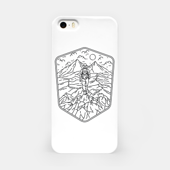 Miniatur Traveler iPhone Case, Live Heroes